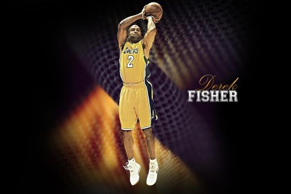 Derek Fisher en Los Angeles Lakers