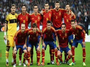 Selección española de fútbol (2012)