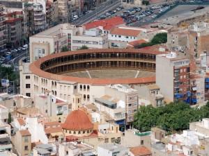Postal: Plaza de toros de Alicante (España)