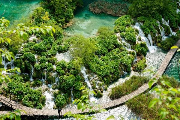 Lagos menores de Plitvice (Croacia)