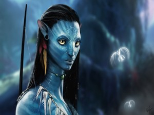 Retrato de Neytiri (Avatar)