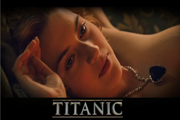 "Kate Winslet en ""Titanic"""