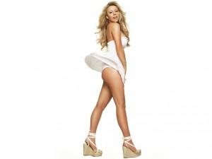 Mariah Carey con ropa sexy