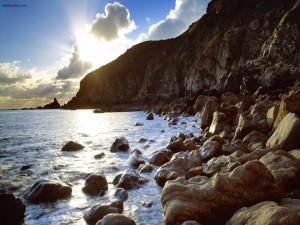 Acantilado rocoso