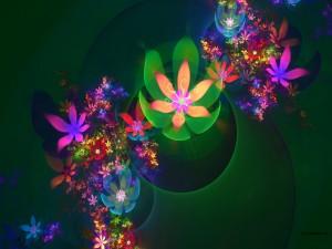 Flores digitales