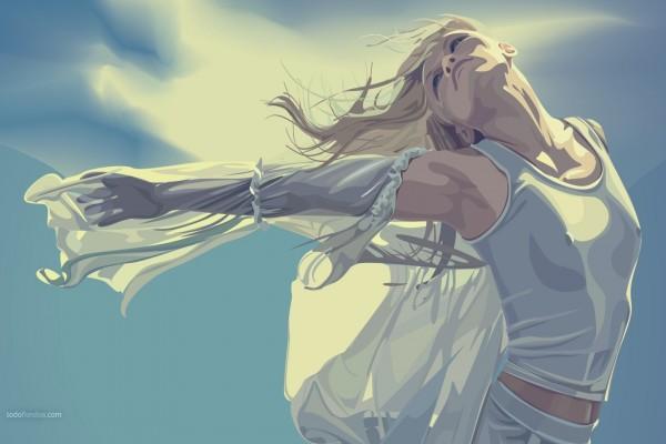 Sintiendo el viento