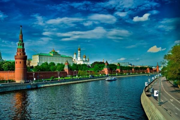 El Kremlin, sede del Gobierno Ruso (Moscú)
