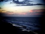Oscuridad en la playa