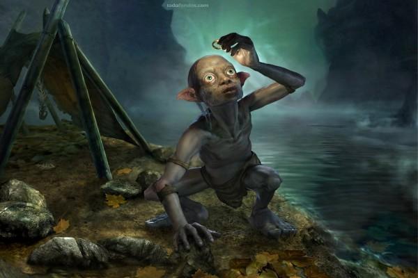 Gollum y El Anillo