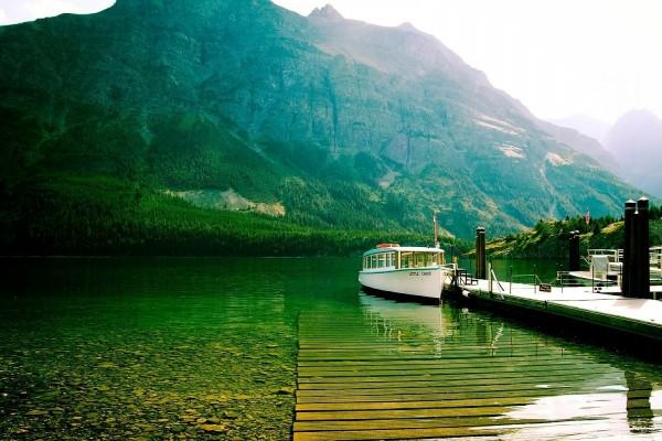 Lago Saint Mary, Parque Nacional de los Glaciares (Montana)
