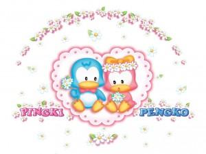 Postal: Pingki y Pengko