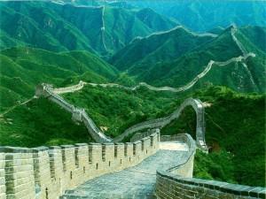 Impresionante fotografía de la Gran Muralla China