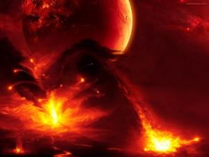 Postal: Mundos de lava