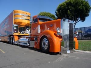 Postal: Camión Peterbilt