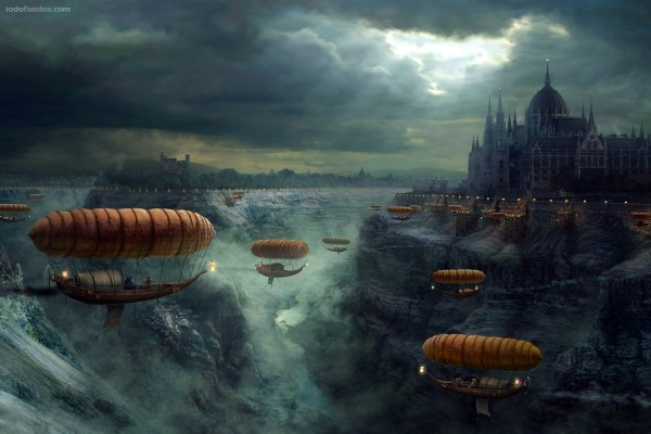 Barcos voladores