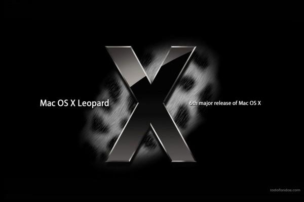 Mac OS X Leopard: la sexta versión importante de Mac OS X