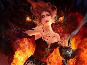 La princesa del fuego