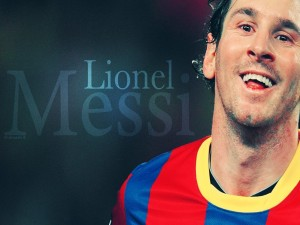 Postal: Lionel Messi (FC Barcelona)