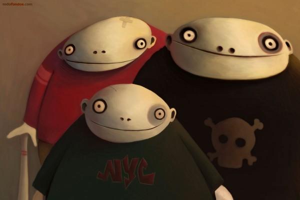 Simpáticos monstruitos