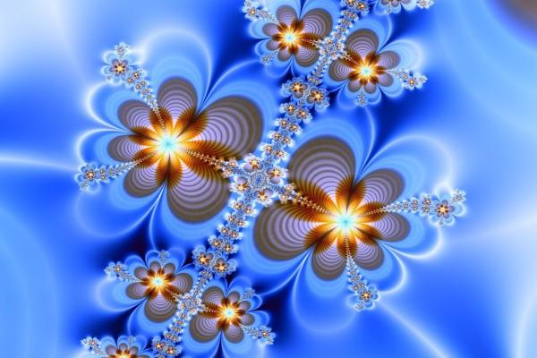 Flores fractales