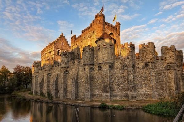 Castillo de los Condes de Gante (Bélgica)