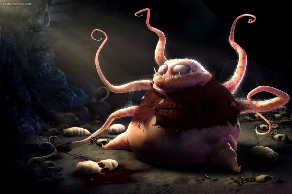 Monstruo cefalópodo