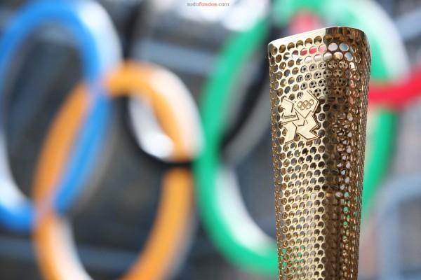 Antorcha olímpica de Londres 2012