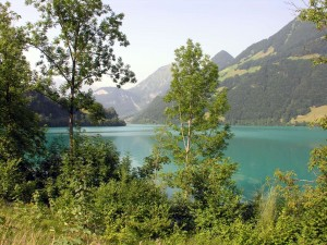 Postal: Lago de Lungern (Suiza)