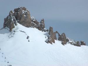 Postal: Pistas de esquí en Tignes, Francia