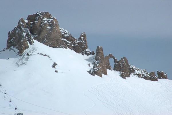 Pistas de esquí en Tignes, Francia