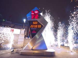 Postal: Cuenta atrás para la ceremonia de apertura de los Juegos Olímpicos de Londres 2012