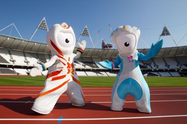 Mascotas humanas de los Juegos Olímpicos de 2012