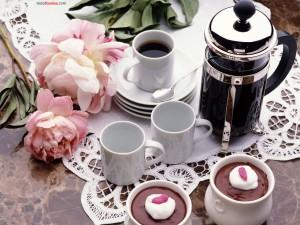Café... o chocolate