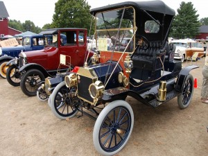Ford T de 1911 descapotable