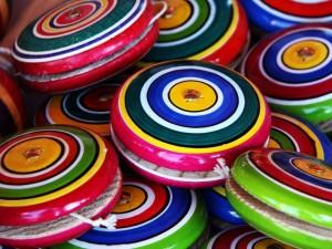 Yoyos multicolores