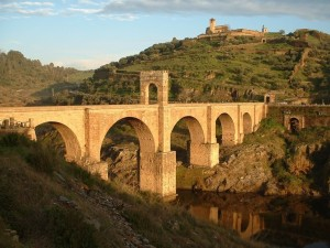 Puente romano de Alcántara (España)