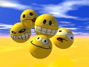Postal: Emoticonos 3D