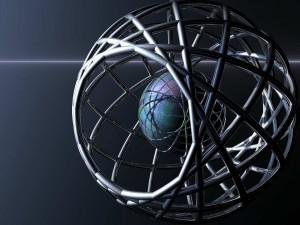 Postal: Esfera en otra esfera