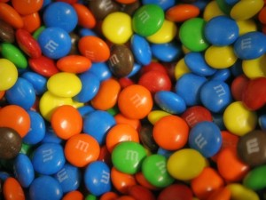 Pastillas M&M's de chocolate
