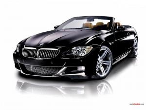 BMW M6 negro