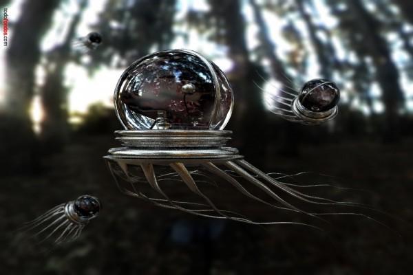 Pulpos voladores del futuro