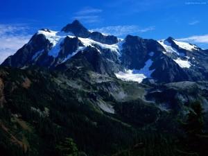 Postal: Las Montañas Rocosas