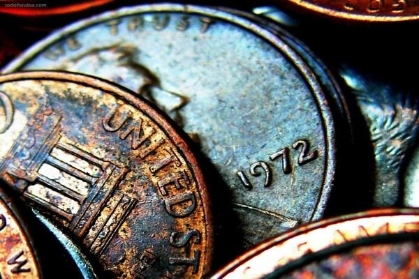 Monedas oxidadas