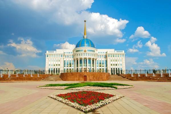Palacio Presidencial de Ak Orda (Astaná, Kazajistán)