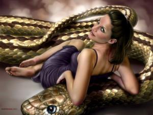 La reina de las serpientes