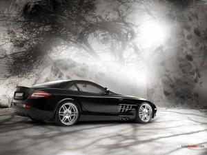 Postal: Brabus Mercedes-Benz SLR (2005)