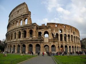 Entrada al Coliseo de Roma