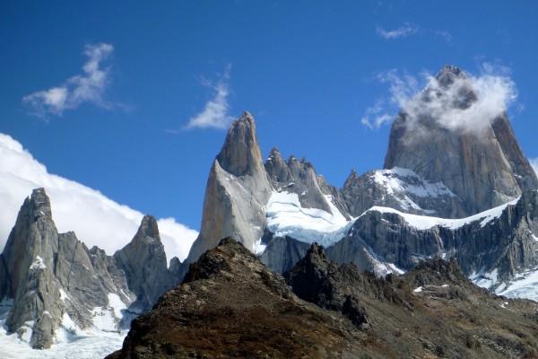 Monte Fitz Roy en la Patagonia (entre Argentina y Chile)