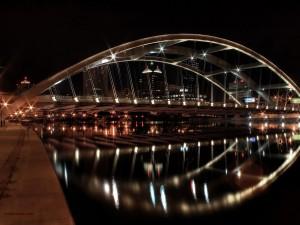 Postal: Puente de la calle Ford, Rochester (Nueva York)