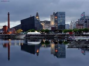 La ciudad de Liverpool, en el Reino Unido